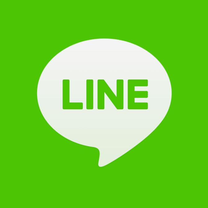 1.LINEのアプリを起動します。